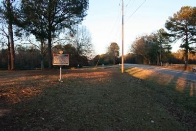Noble Hall Marker On Shelton Road image. Click for full size.