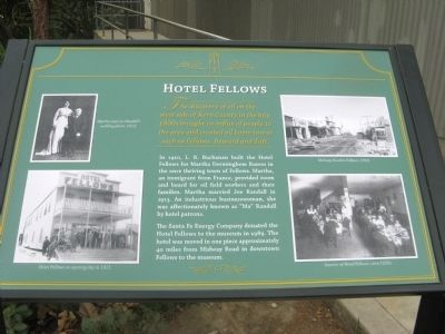 Hotel Fellows Marker image. Click for full size.