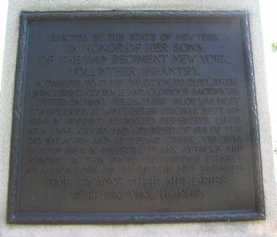Plaque on Back image. Click for full size.