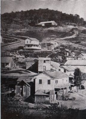 Keystone Mine - View from North image. Click for full size.