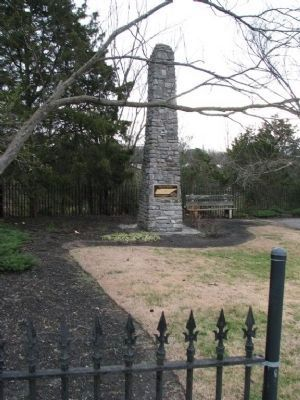 Geographic Center of Tennessee Monument image. Click for full size.