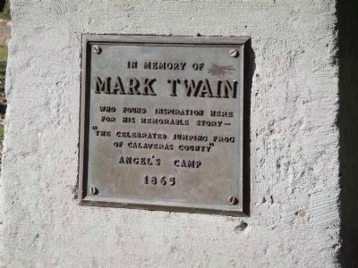 Mark Twain Marker image. Click for full size.