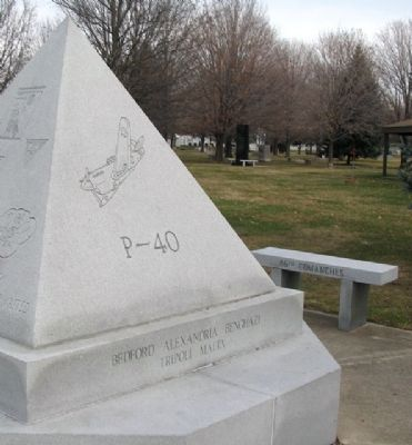 79th Fighter Group Memorial South Face image. Click for full size.