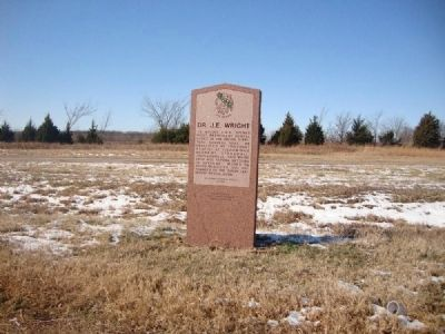 Marker as seen from U.S. Route 69 image. Click for full size.