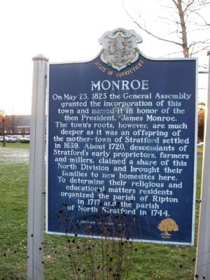 Monroe Marker image. Click for full size.