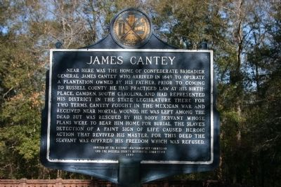 James Cantey Marker image. Click for full size.