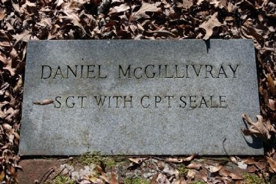 Daniel McGillivray SGT with CPT Seale Gravestone Marker image. Click for full size.