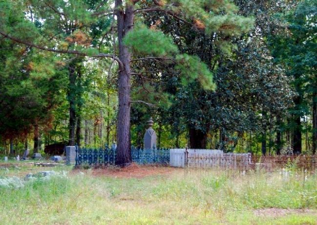 Horns Creek Baptist Church Cemetery image. Click for full size.