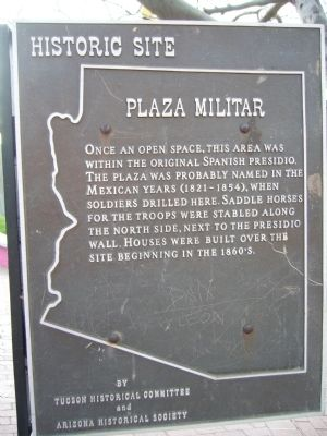 Plaza Militar Marker image. Click for full size.
