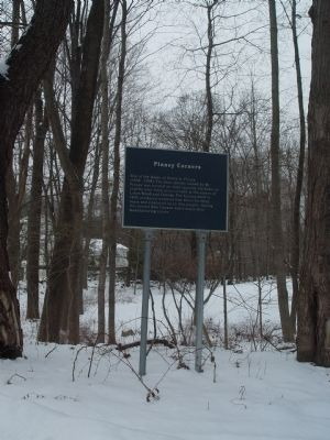 Pinney Corners Marker image. Click for full size.