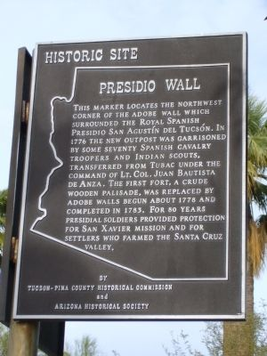 Presidio Wall Marker image. Click for full size.