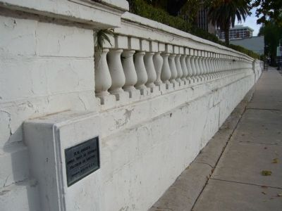 Adobe Wall has been replaced by concrete. image. Click for full size.