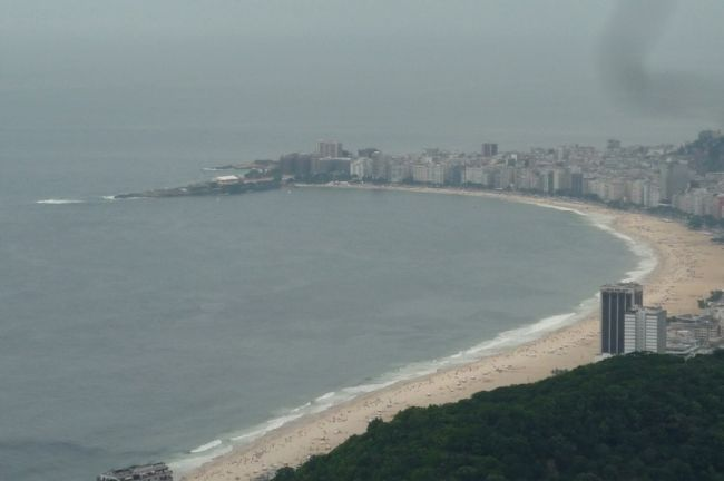Copacabana seen from Sugar Loaf Mountain image. Click for full size.
