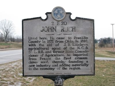 John Rush Marker image. Click for full size.
