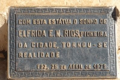 Santos Dumont Memorial - Marker Panel 3 image. Click for full size.