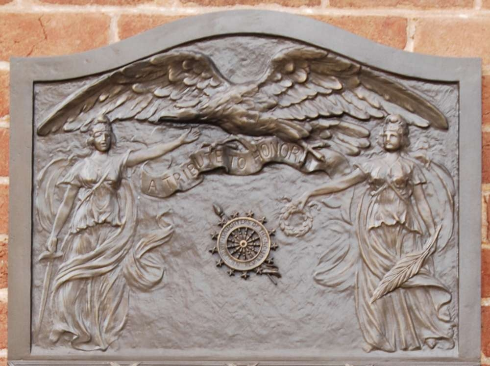 Edgefield County World War I Memorial -<br>Top Relief