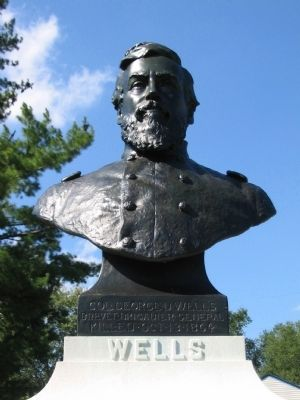 The Bust of Wells image. Click for full size.