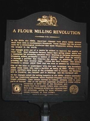 A Flour Milling Revolution Marker image. Click for full size.