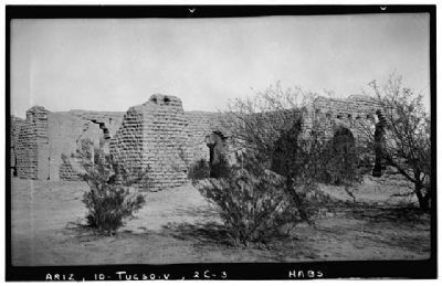 Fort Lowell Hospital Ruins image. Click for more information.