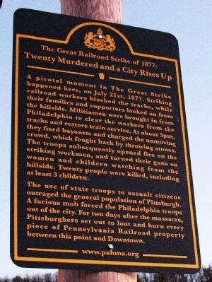 Twenty Murdered and a City Rises Up Marker image. Click for full size.