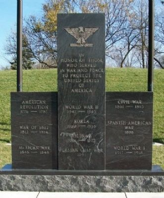 Centerville Veterans Memorial image. Click for full size.