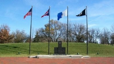 Centerville Veterans Memorial Plaza image. Click for full size.
