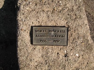Works Progress Administration marker image. Click for full size.