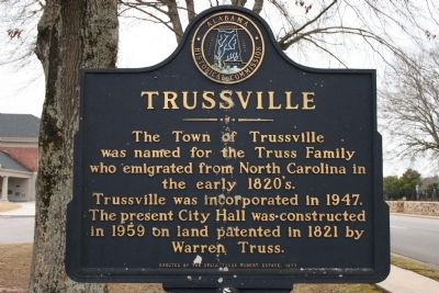 Trussville Marker image. Click for full size.