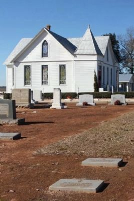 St. Matthew's Lutheran Church and Cemetery image. Click for full size.