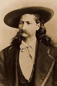 "James Butler ""Wild Bill"" Hickok image. Click for full size."