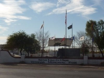 Matthew B. Juan - Ira H. Hayes Memorial Park Sacaton, AZ image. Click for full size.