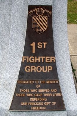 1st Fighter Group Memorial image. Click for full size.