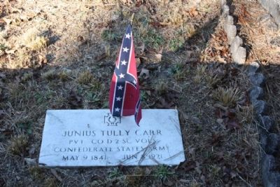 Appleby's Methodist Church Cemetery, Confederate Veteran image. Click for full size.
