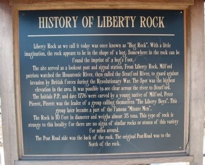 Liberty Rock Marker image. Click for full size.