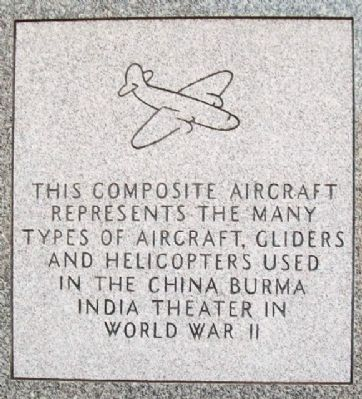 China Burma India Hump Aircrews Memorial image. Click for full size.
