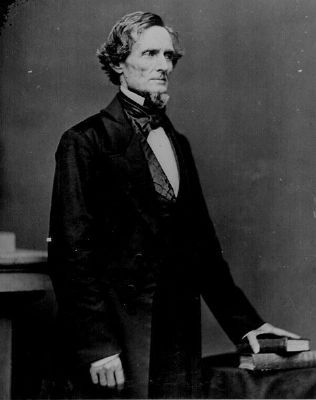 Jefferson Davis<br>(1808&#8211;1889) image. Click for full size.