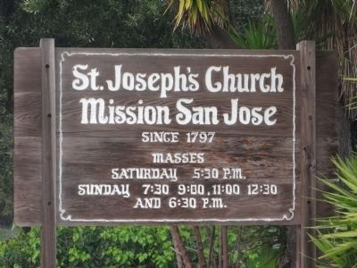 St. Joseph's Church - Mission San Jose image. Click for full size.