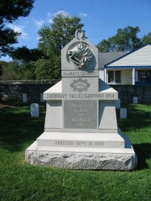 3rd Massachusetts Cavalry Memorial image. Click for full size.