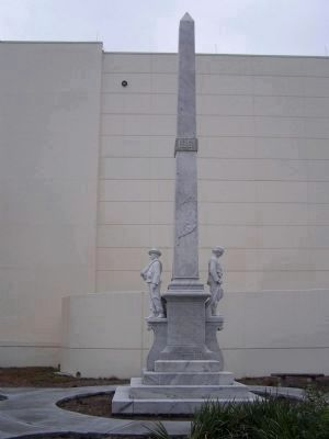 Tampa Confederate Monument, west side image. Click for full size.