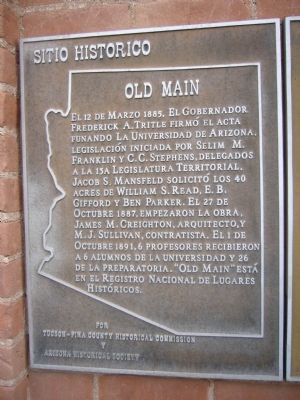 Old Main Marker image. Click for full size.
