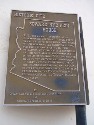Edward Nye Fish House Marker image. Click for full size.
