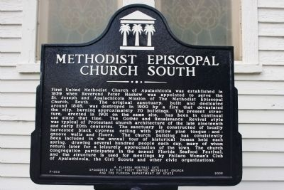 Methodist Episcopal Church South Marker image. Click for full size.