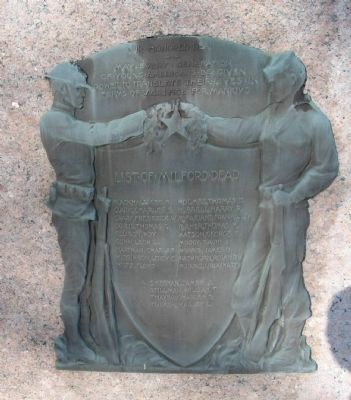Milford World War I Memorial image. Click for full size.