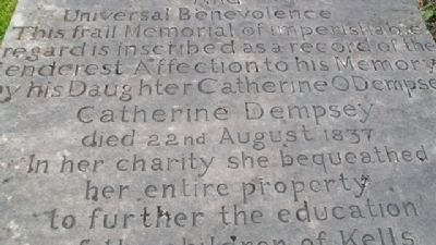 Catherine Dempsey Marker image. Click for full size.