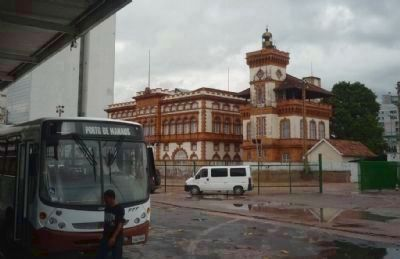<i>Alfandega</i>: the Port of Manaus Customs House (1906) image. Click for full size.