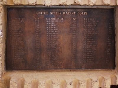 Marines Lost on December 7, 1941, USS Arizona image. Click for full size.