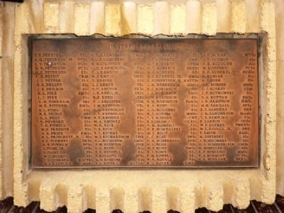 Naval Casualty List, Fourth Plaque Clockwise image. Click for full size.