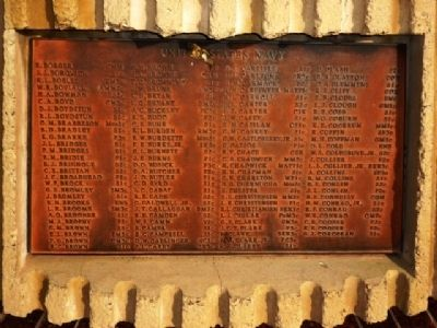 Naval Casualty List, Eleventh Plaque Clockwise image. Click for full size.