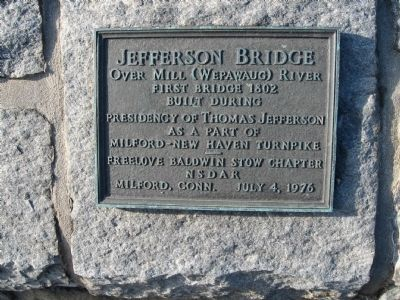 Jefferson Bridge Marker image. Click for full size.