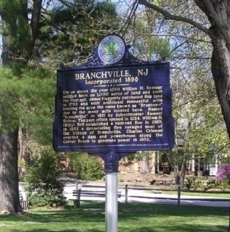 Branchville, NJ Marker image. Click for full size.